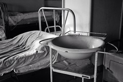 Wash your sins ( vol. III ) (piper969) Tags: bw bed decay bn wash letto sins abbandono catino lavare colpe uploaded:by=flickrmobile flickriosapp:filter=nofilter