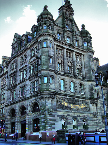 """The Scotsman"", North Bridge, Edinburgh"