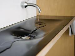 Rubber sink (irecyclart) Tags: bathroom innertube rubber sink tire