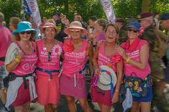 in pink (stevefge) Tags: nederland netherlands beuningen pink walkers march ladies women hats people candid street vierdaagse walk walkoftheworld nederlandvandaag reflectyourworld smile happy blij