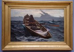 Museum of Fine Arts, Boston (alh1) Tags: museum fine arts boston massachusetts usa halibut rowingdory fog