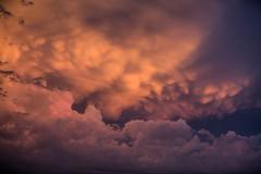 MSP Clouds (Skeeter Photo) Tags: minneapolisstpaulinternationalairport msp mspairport clouds sky mammatus sunset chrislundberg weather cloud layers