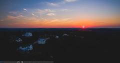 Friday Night Lights (benpsut) Tags: dji djiphantom3pro drone phantom3 phantom3pro sunset aerial aerialphotography beautiful dronephotography dusk sceneryhill pennsylvania unitedstates us