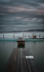 Broken (tara.bowen) Tags: beach narrabeen rock pool sunrise nsw sydney australia plank canon