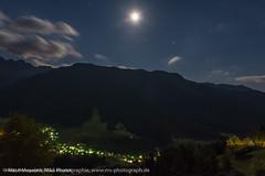 Mondnacht ber dem Villnsser Tal - Moon night above the Funes Valley (klausmoseleit) Tags: nacht sdtirol orte jahreszeit sommer licht villnsstal alpen msphotographie villns trentinoaltoadige italien it