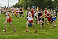 Cross Country at Watertown - 8 27, 2016 (jonlachance) Tags: wisconsin ohs summer 2016 watertown wi usa