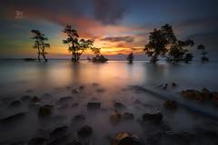 Happy Sky (Jose Hamra Images) Tags: landscape longexposure laguna labuan sunset sunrise anyer carita banten cilegon