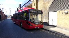 Go Ahead London Enviro200 MMC/BYD Electric EV (LondonBusTVUK) Tags: see5 lj16nnk go ahead london enviro200 mmcbyd electric ev