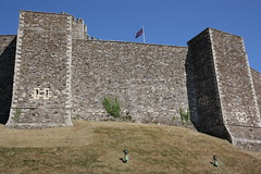 Castle Walls (Dark Dwarf) Tags: holiday august 2016 kent dover castle walls