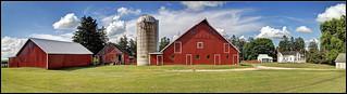 Iowa Farm Panorama