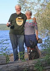 1196 (Jean Arf) Tags: trumansburg ny newyork summer 2016 cayuga lake kevin joanne annie dog