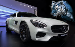 AMG Tiger (Falcon_33) Tags: whitecar blanc supercars cars carspotting france french falcon sony mercedesbenz