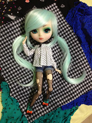 Mint Blur <3 (Pullip.Boy) Tags: mint blur pullip prunella doll dolls lovely love cute amazing boneca wig blue purple green turquoise cool boy boys gay collector collection pullipboy