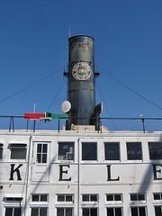 Maritime Museum of San Diego (Jasperdo) Tags: maritimemuseumofsandiego maritimemuseum museum sandiego california ferry berkeley southernpacificlines sign smokestack