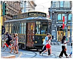 atmosfera (tra le mie foto migliori) Tags: paolojeranphotographer best migliori milano tram people cordusio gente atm atmosfera