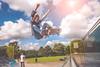 R.I.C.H - Realizing I Create Happiness (Johnez) Tags: panasonic lx100 skateboarding west park boneless ramp