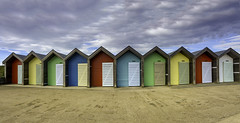 Blyth Beach Huts (Brian_Gray) Tags: blyth northumberland northeast england landscape ndfilters nikond7100 sky colourful