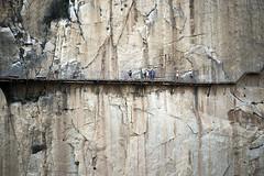 No apto con vertigo (torresgarciac) Tags: caminitodelrey caminito del rey ardales málaga costa sol andalucia montañas chorro estación alora tren vias montes pared escalar escalada
