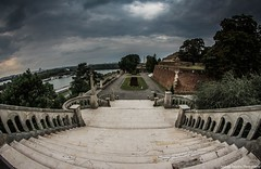 Kalemegdan Park, Belgrade (Andrija Zecevic Photography) Tags: canon eos 700d samyang 8mm f35 cs2 ii kalemegdan park belgrade serbia november man film movie location wide angle view photo photography photos