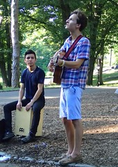 Central Park (Robbie1) Tags: buskers centralpark musician newyorkcity