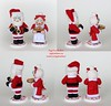 Clayed From The Heart Santa and Mrs. Claus (thedollydreamer) Tags: clayedfromtheheart polymerclay polymer clay sculpey santa mrsclaus figurines art collectible christmas whimsical signed numbered bridgetdellaero thedollydreamer artist