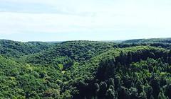 Roche d'Otre (mkallou) Tags: normandie verdure paysage hauteur
