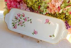 Limoges Porcelain Tray ~ Pink Flowers ~ Floral ~ Gold (Donna's Collectables) Tags: limoges porcelain pink flowers floral gold thanksgiving christmas
