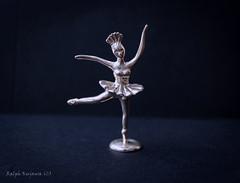 Ballerina-in-silver (slivvtheshiv) Tags: silver ballerina jewellery statue miniature point