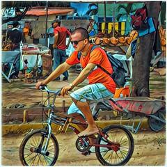 CUBA, bike guy (plismo) Tags: guardalavaca holguin cuba