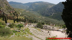 Archaeological site of Delphi - Ancient theatre (soyouz) Tags: delfi delphi grc grce delphes ruines grec patrimoineunesco phocis ancienttheatre grcela
