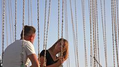 392 - Chains of love (Ata Foto Grup) Tags: love couple zincir chain chains young air fairground lunapark panayır pavli pehlivanköy kırklareli trakya pomak sekolin
