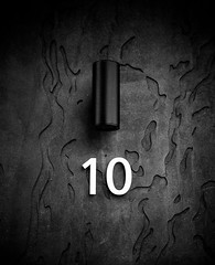 10 (Jori Samonen) Tags: number 10 ten light lamp wall texture kalasatama helsinki finland nikon d3200 350 mm f18 nikond3200 350mmf18