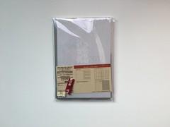 包裝正面@2017無印良品PVC封面滑順月週記事本 (in_future) Tags: muji 無印良品 月週記事本 週記事 記事本 行事曆 手帳 筆記本 note planner