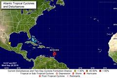 TROPICAL STORM 'MATTHEW' FORMS IN THE WINDWARD ISLANDS (bajanreporter) Tags: barbados caribbean hurricane preparedness weather