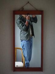 Self Portrait (kawabek) Tags: lensbaby twist60 レンズベビー selfportrait セルフポートレート mirror 鏡
