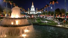 Oakland Mormon Temple with Christmas decorations December 2012 (delight.1027) Tags: california christmas lights oakland 2012 mormontemple
