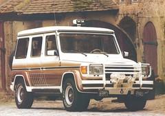 truck ads advertising mercedes benz catalog brochure gwagen katalog gelandewagen gmodelle