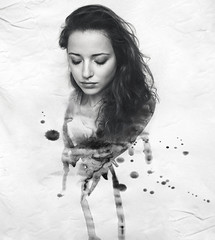 painted (Greta Tu) Tags: portrait inspiration art beauty photoshop denmark paint creative gretatu