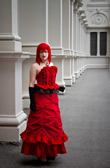 Madam Red (yeshayden) Tags: cosplay  madamred  kuroshitsuji blackbutler angelinadurless melcospho
