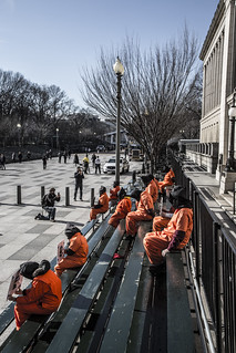 Witness Against Torture: Inaugural Bleachers