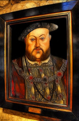 Henry The Eighth (Billy McDonald) Tags: museum painting glasgow tudor henrytheeighth provandslordship fractalius