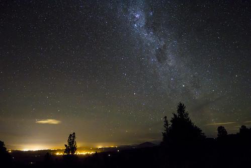 Te Awamutu, Pirongia and The Sky