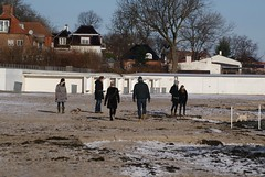 People on the beach (osto) Tags: people denmark europa europe sony january zealand dslr scandinavia danmark a300 sjlland  2013 osto alpha300 osto