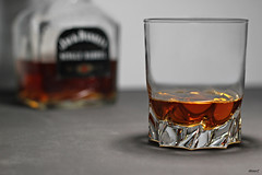 Single Barrel (Nighthology) Tags: canon jack eos 50mm drink whiskey alcohol daniels whisky jackdaniels 550d