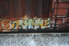 rhyme rime msk kcw (steeltownbench) Tags: new railroad justin up cn graffiti cool hipsters tits traffic kittens trains run daily nerds covered shit stupid commuter cp should boxcars onr freshness ballast baer hoppers csx btr holla railfanning yolo rfm benching railworks beiber railstuff jan152013