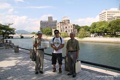 Atomic Bomb Museum and Friends (Mustang Koji) Tags: hiroshima atomicbomb nichu