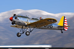 Ryan PT-22 Recruit (Trent Bell) Tags: california airport ryan aircraft cable airshow socal recruit upland pt22 2013