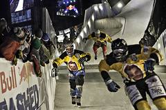 red bull crashed ice - st. paul, minnesota (Dan Anderson (dead camera, RIP)) Tags: ice minnesota sport downtown extreme skating stpaul minneapolis twincities saintpaul mn redbull cathedralofsaintpaul crashedice cathedralofstpaul 2013 redbullcrashedice johnfisher crashice twincitiesphotographygroup shanenuttley
