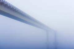 A bridge (k.dmitrijewa) Tags: bridge fog grey gloomy nostalgic pennyjey