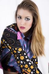 02 (Alessandro Gaziano) Tags: portrait woman girl beauty model foto makeup occhi sguardo fotografia colori ritratto bellezza ragazza servizio trucco modella alessandrogaziano